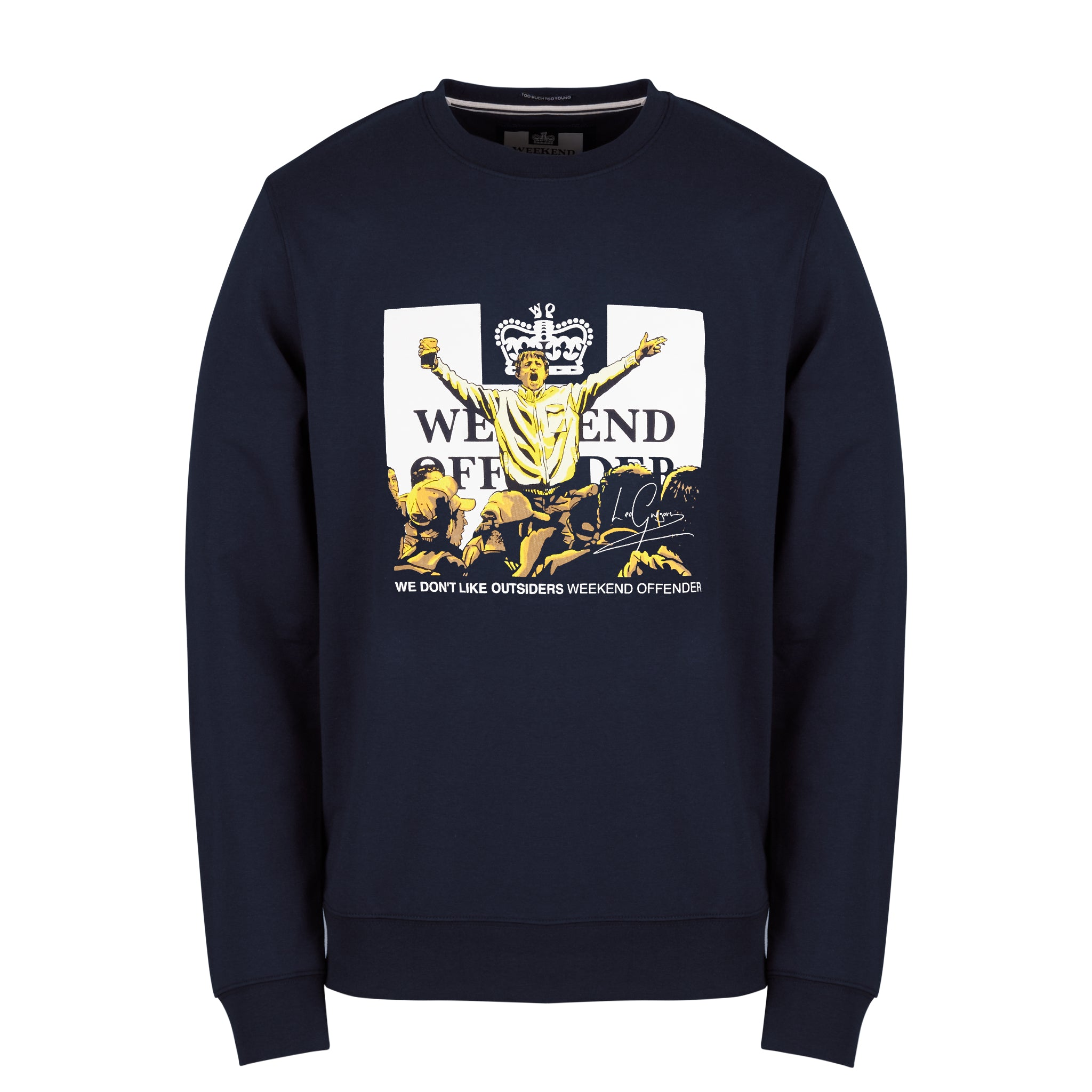 Leo Gregory Sweat Navy