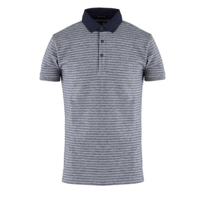 Farina Navy Twist Grey Marl