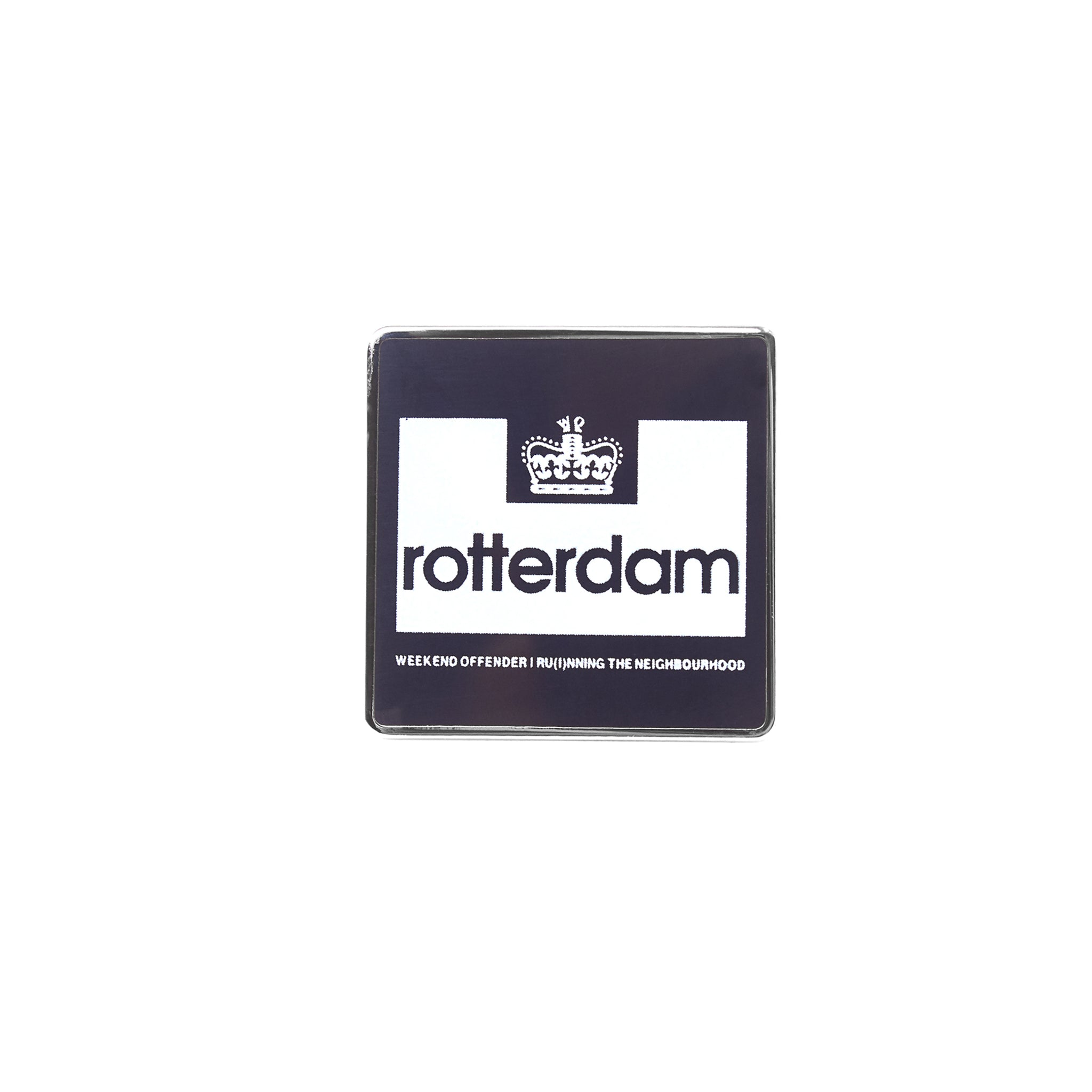 City Series Pin Badge Rotterdam