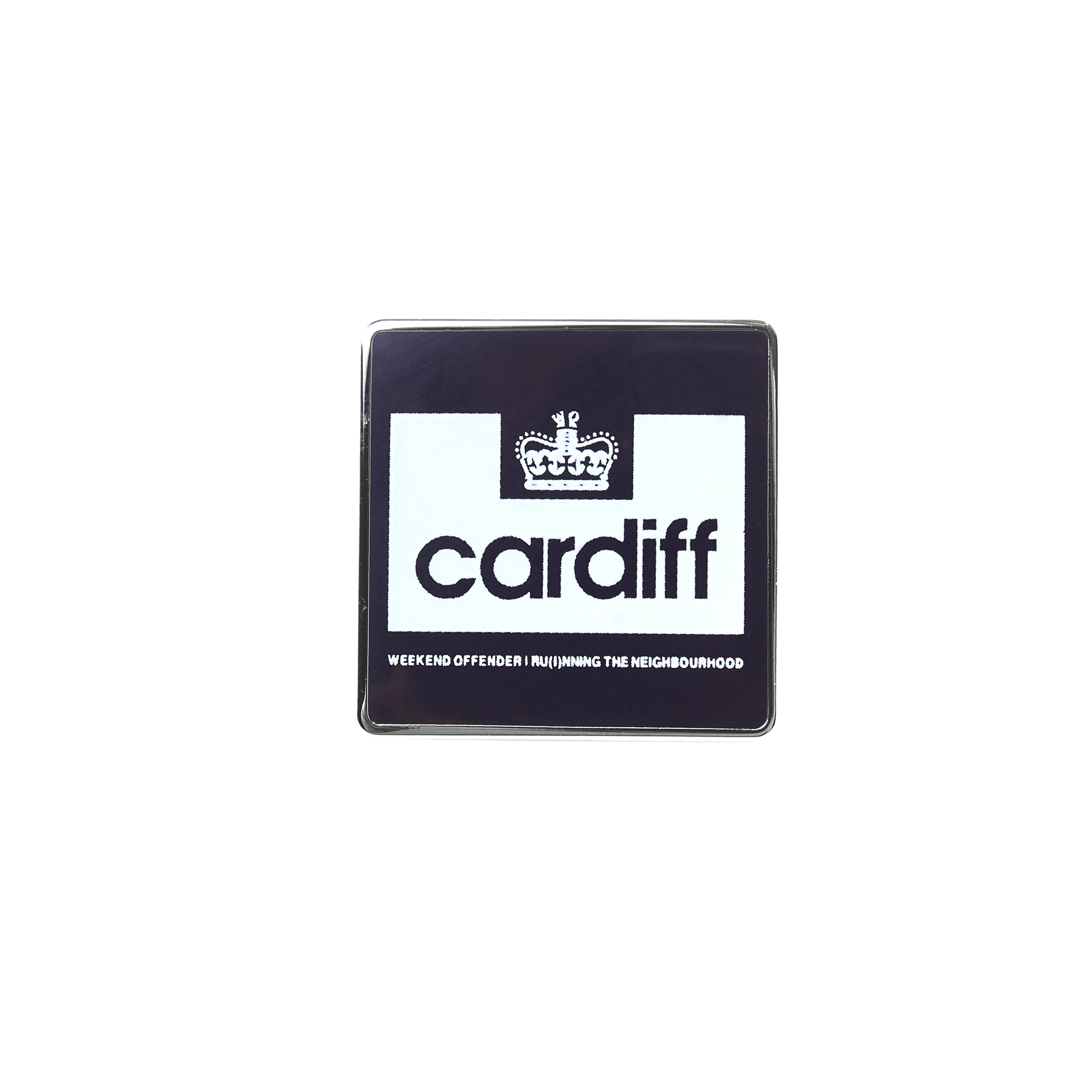 City Series 2 Pin Badge Cardiff