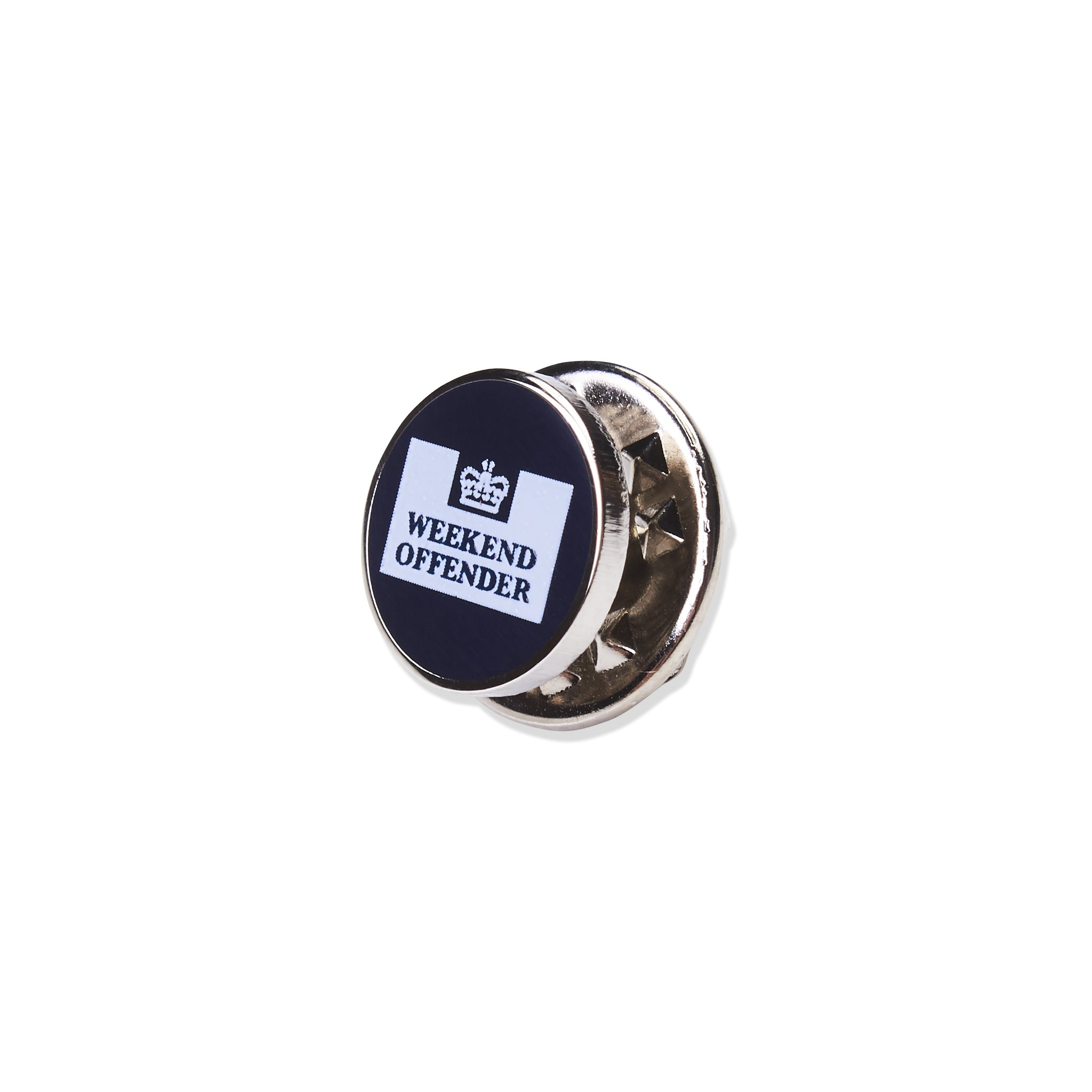 Weekend Offender Pin Badge