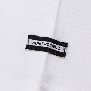 Admit Nothing Football White