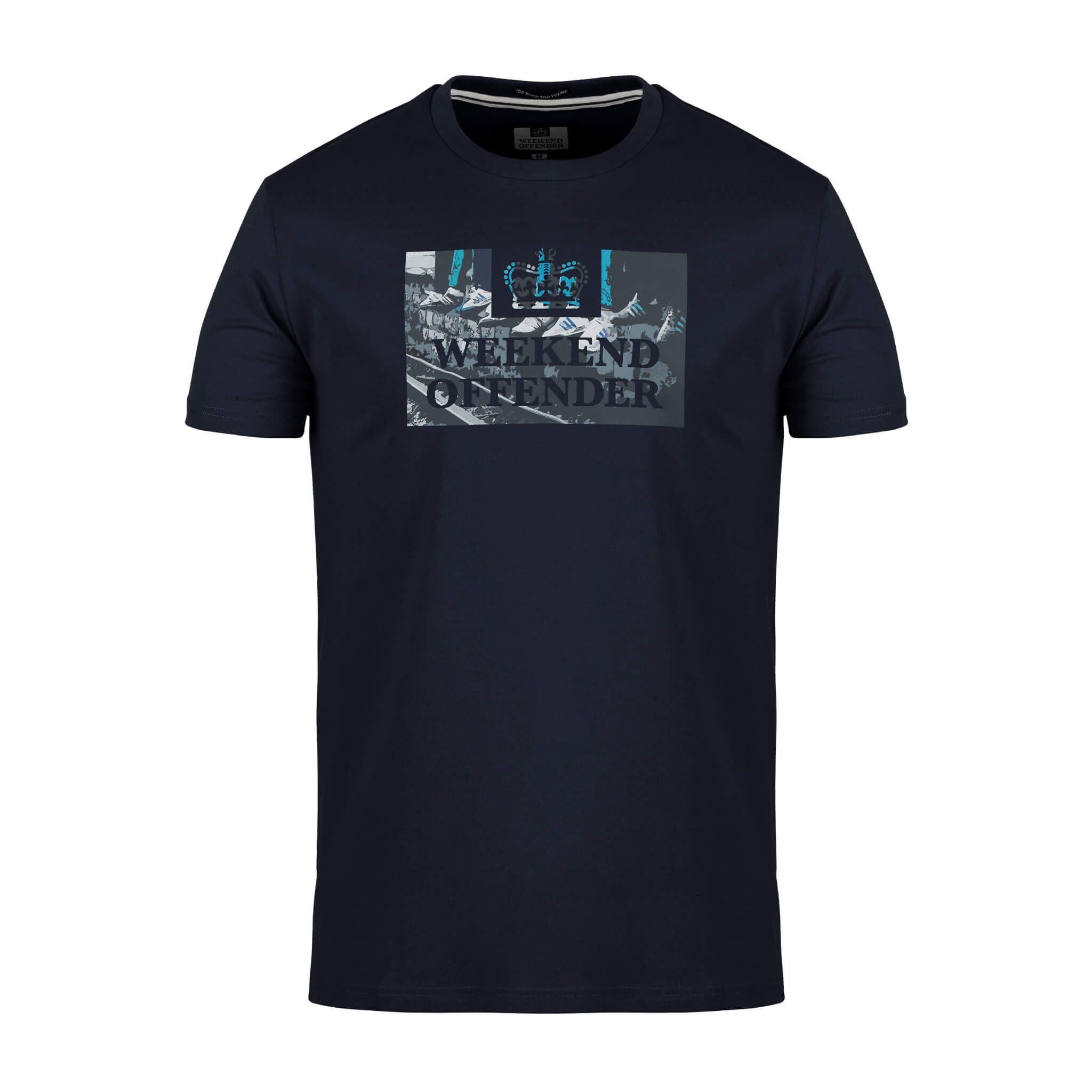 Saturdays Tee Navy