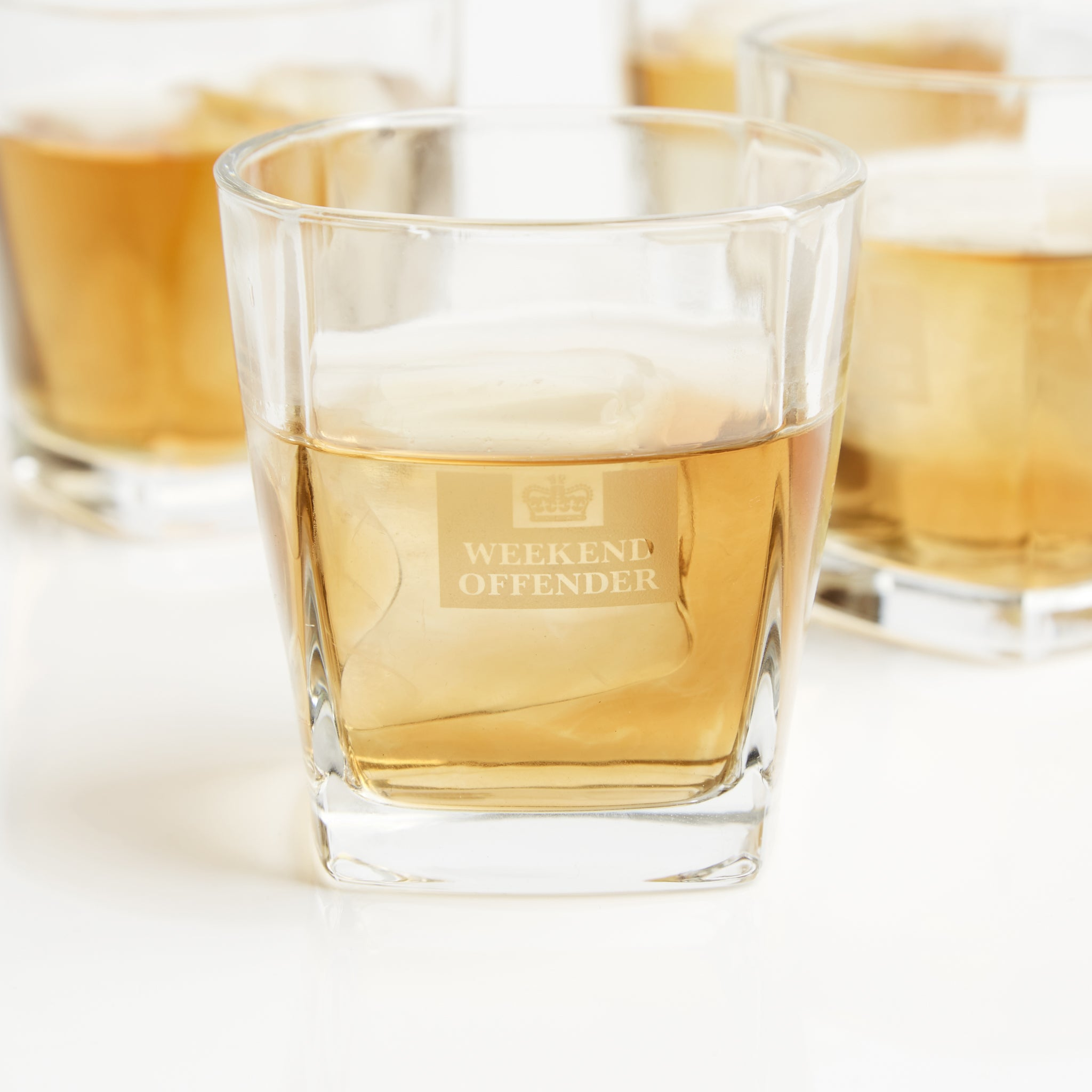 Glass Tumbler Set of 4