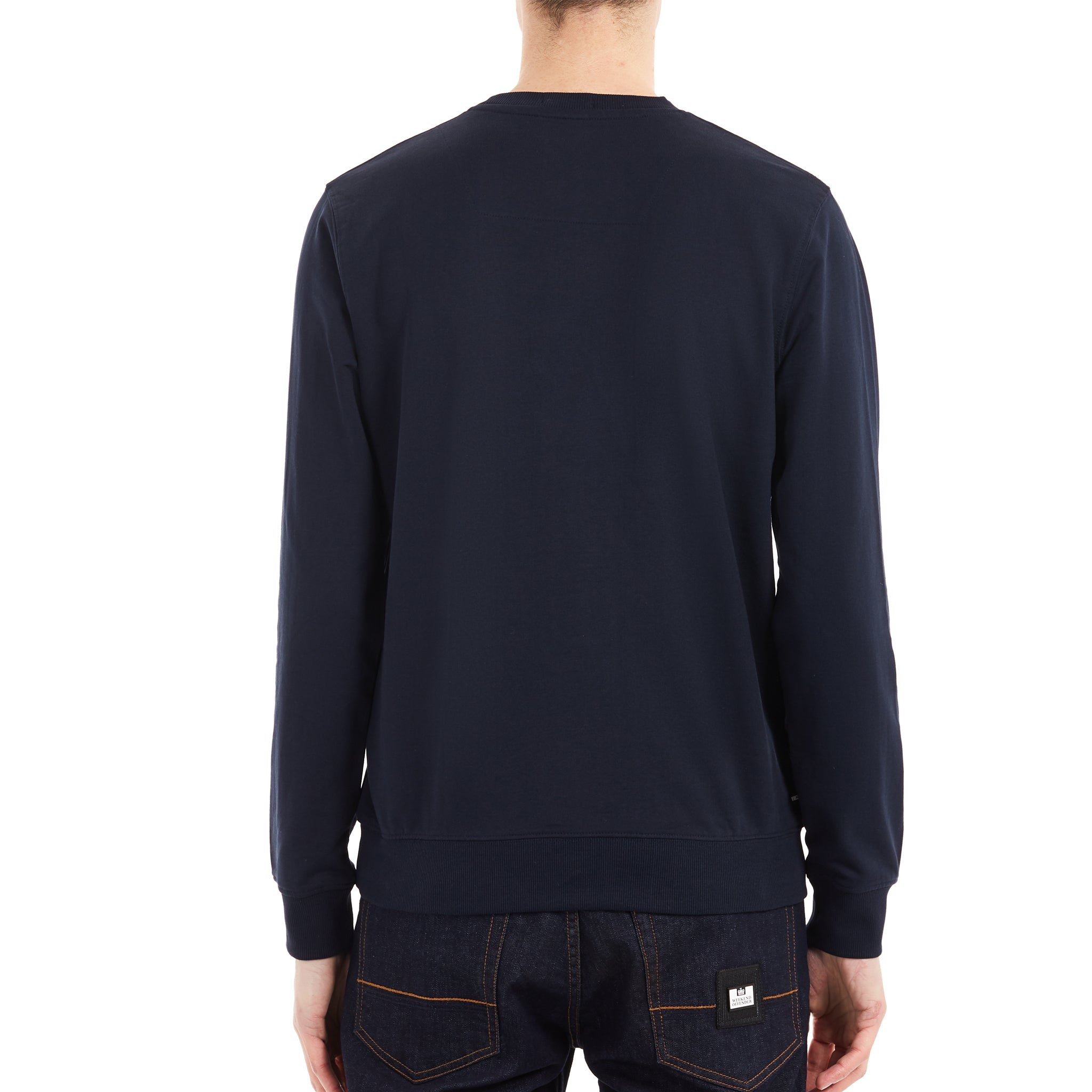 Heel Wheel Sweat Navy