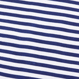 Half Stripes White