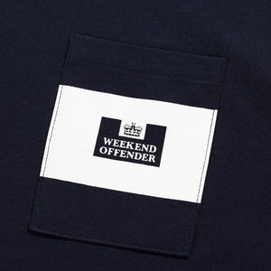 Pocket Stripe Navy