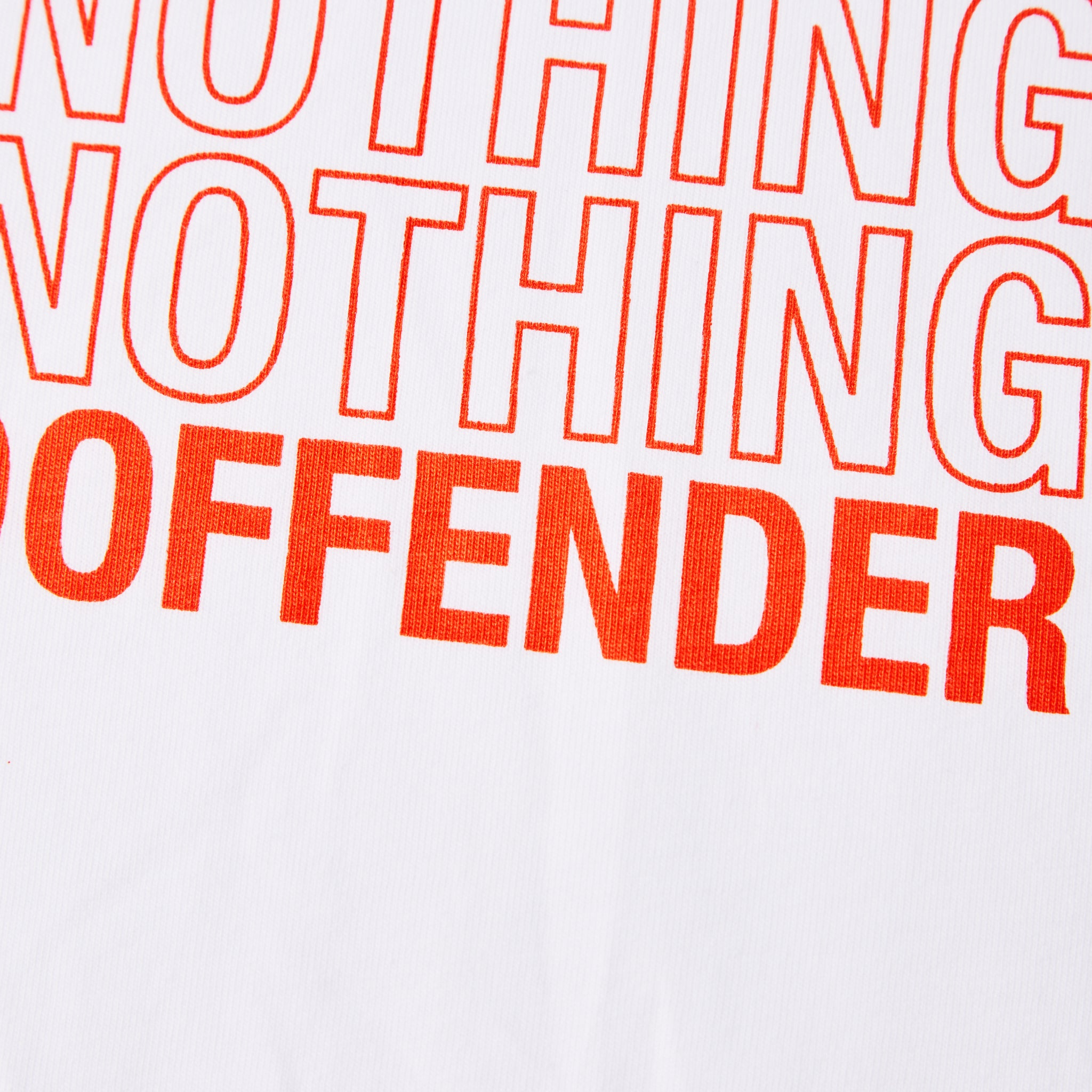 Admit Nothing Tee White