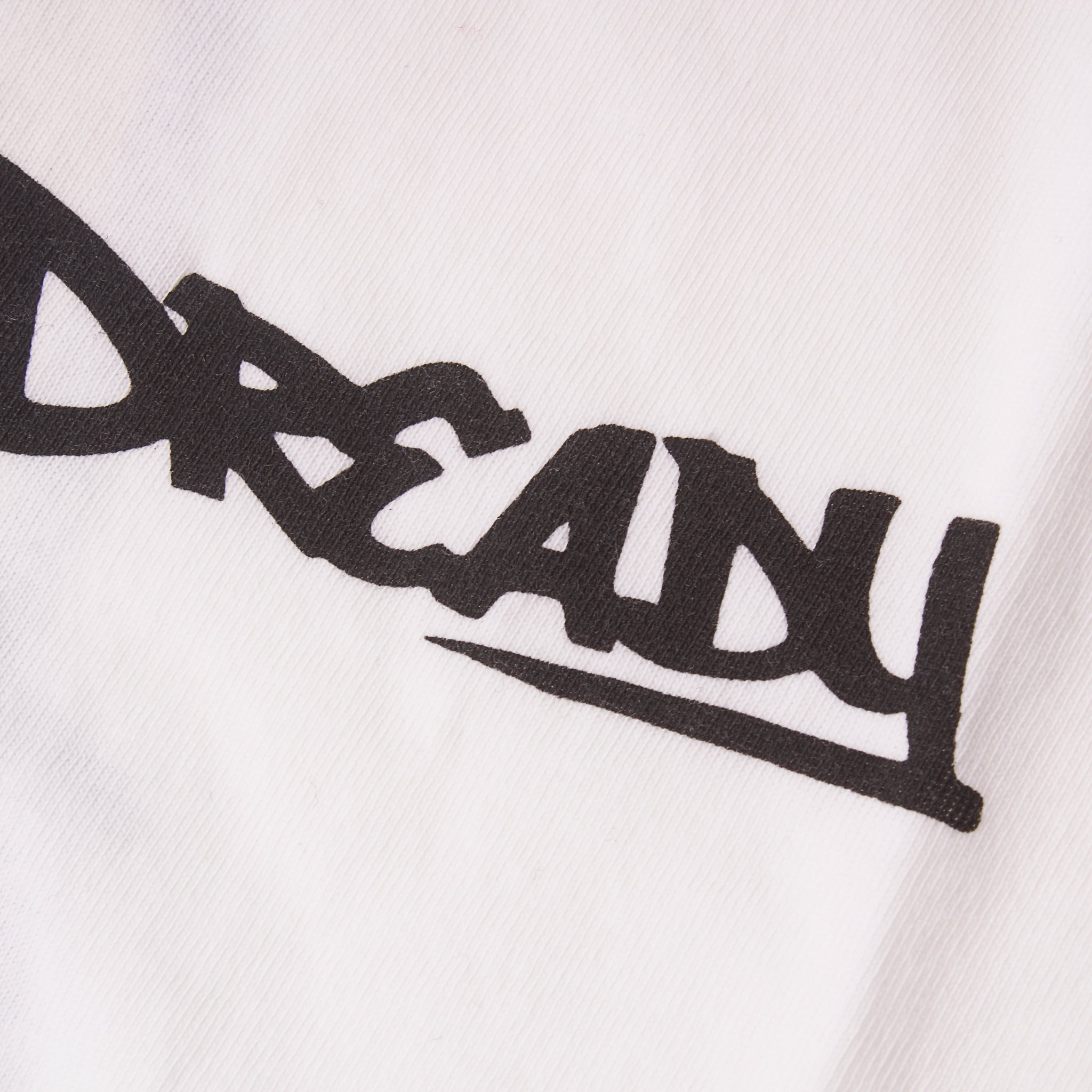 Dready Tee Footprint White
