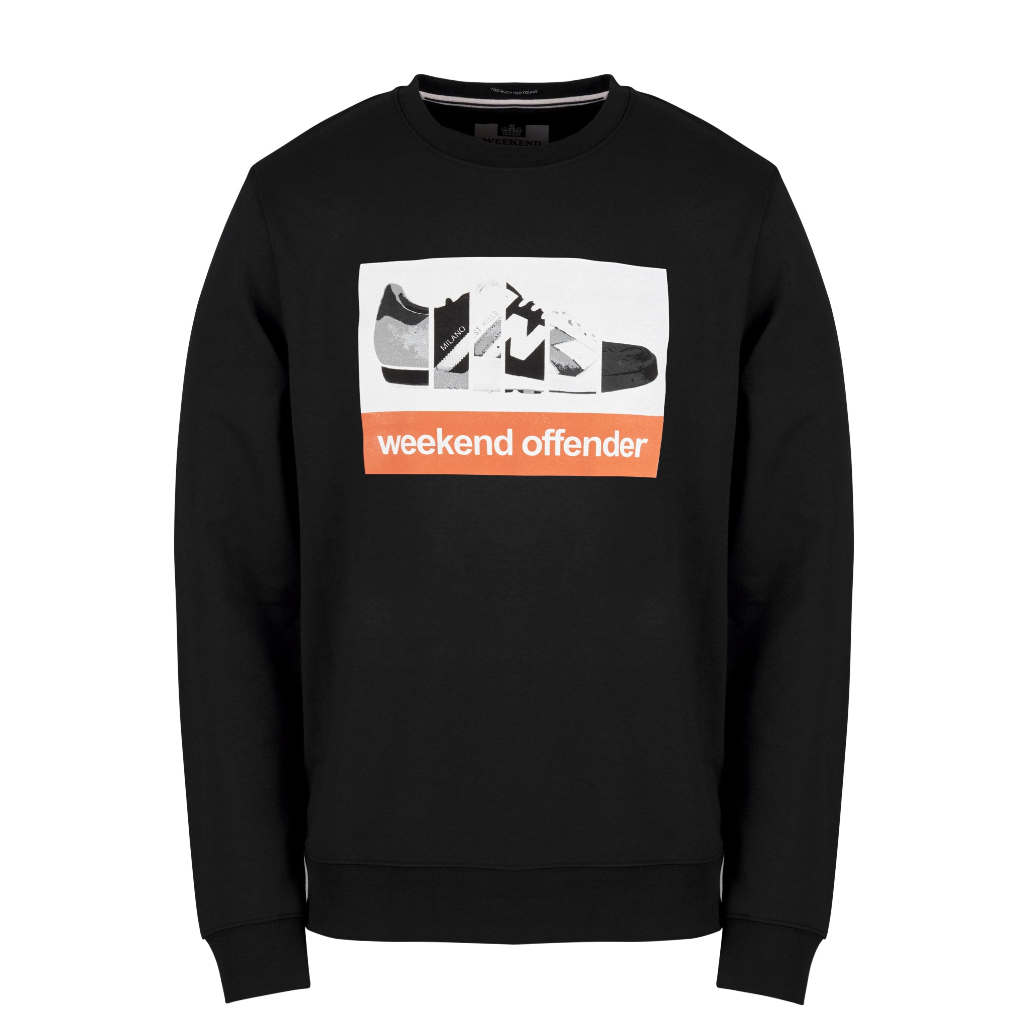 Trainerspotting Sweat Black