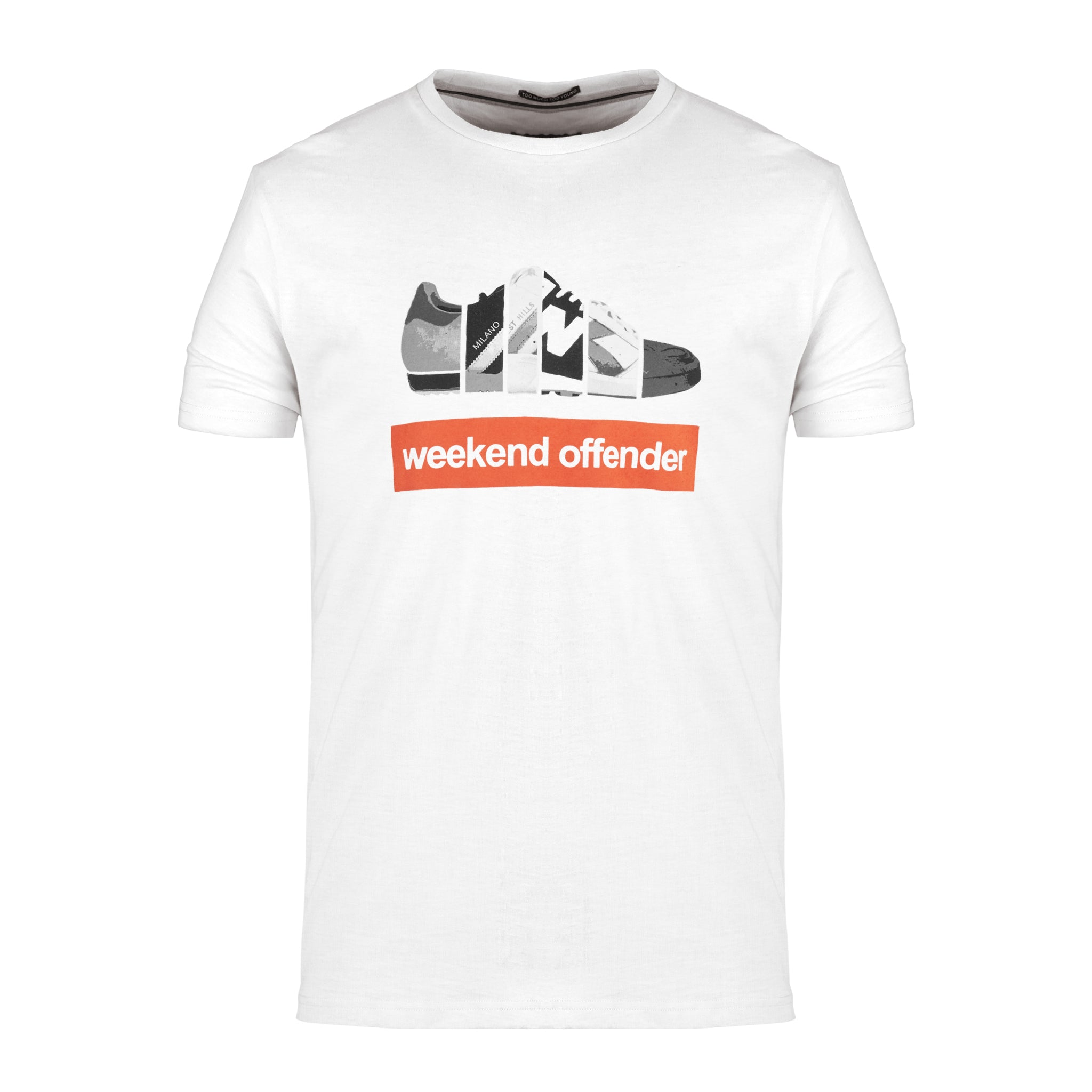 Trainerspotting Tee White