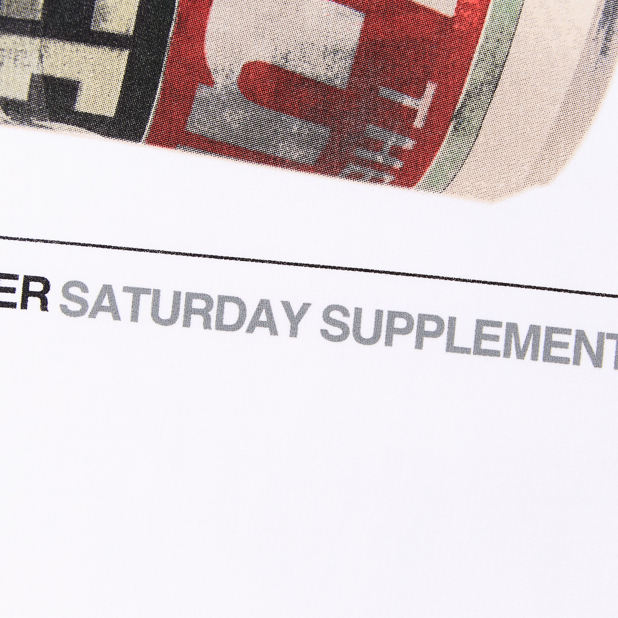 Saturday Supplement Sweat White