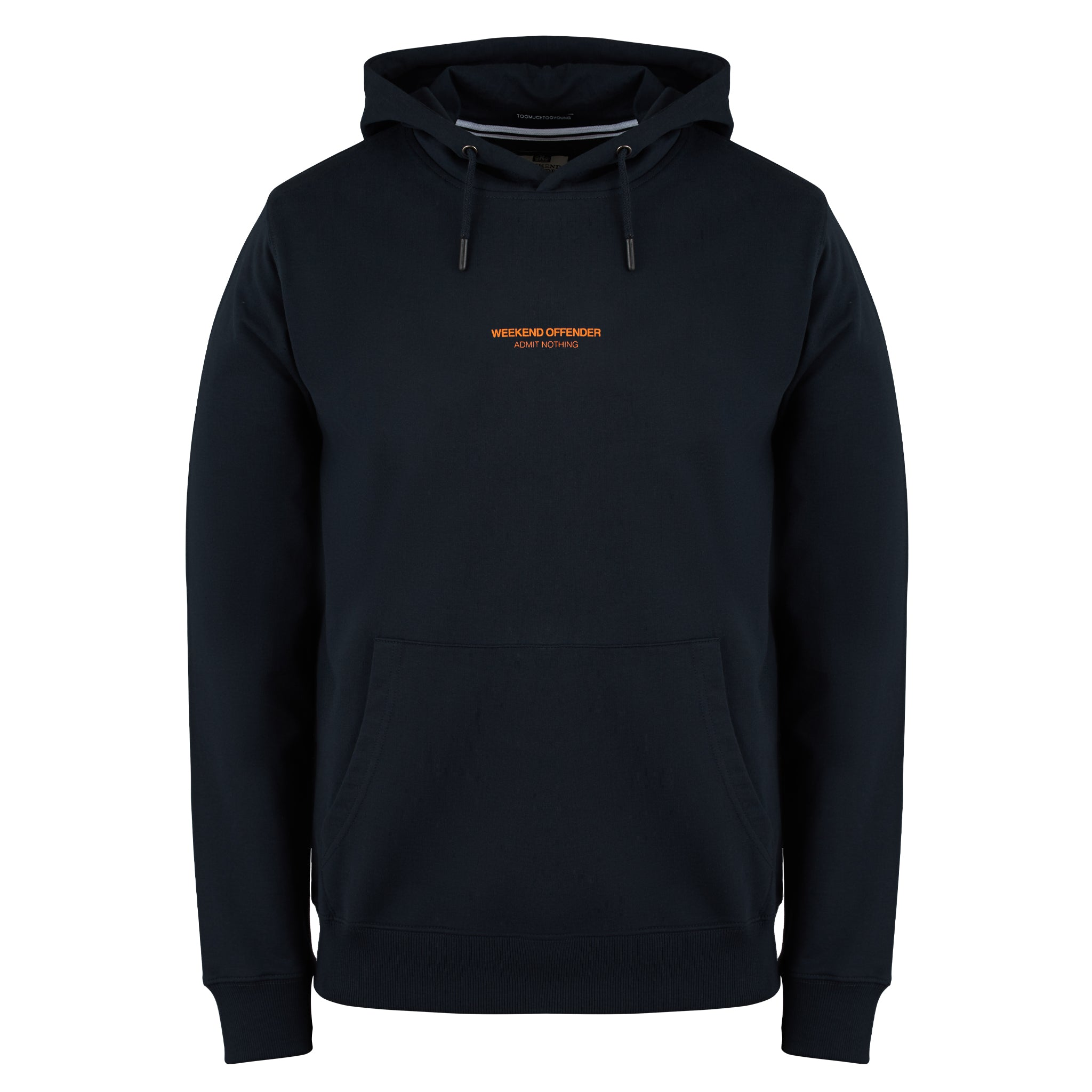 W.O.A.N Capsule Hoody Navy/Orange