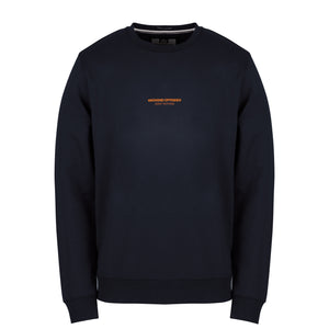 W.O.A.N Capsule Sweat Navy/Orange