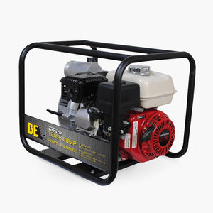 "3"" BE TP-3065HR Honda Semi-Trash Pump 264gpm"