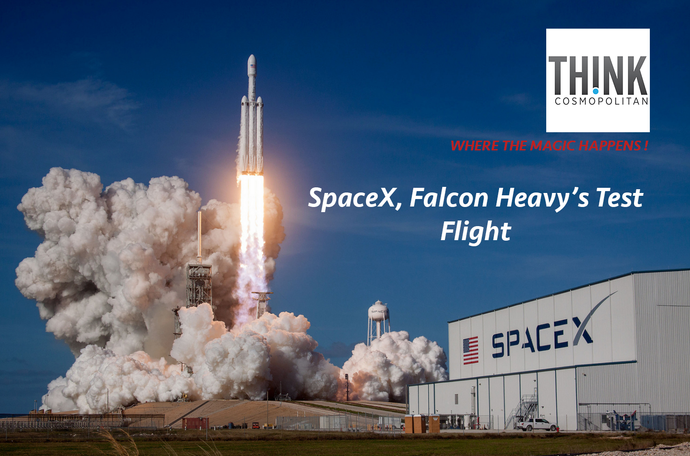SpaceX, Falcon Heavy's Test Flight