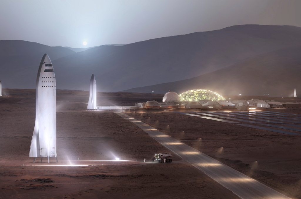 Mars first base
