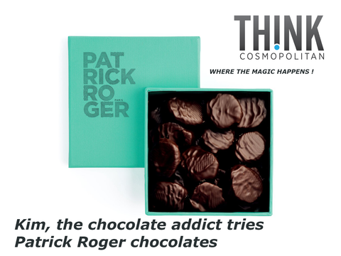 Think Cosmopolitan Patrick Roger chocolates