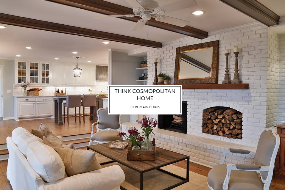 THINK COSMOPOLITAN HOME COLLECTIONS BANNER