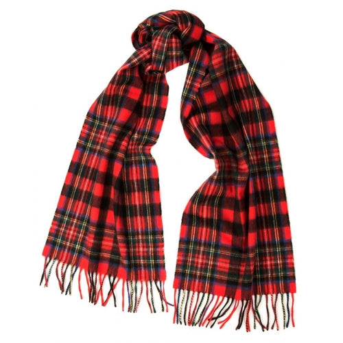 BEGG & CO - JURA SCARF - ROB STEWART RED