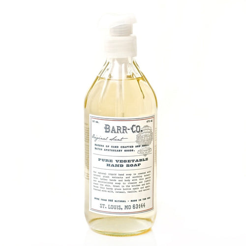 BARR-CO. ORIGINAL SCENT PURE VEGETABLE HAND SOAP