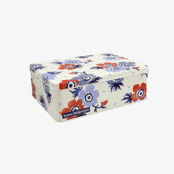 Anemone Small Rectangular Tin