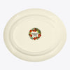 Seconds Vegetable Garden Artichokes Large Oval Platter