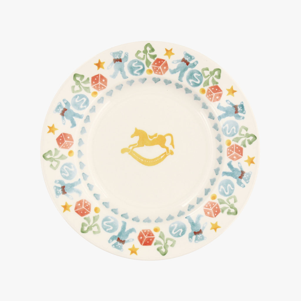 "Seconds Toy Box 8 1/2"" Plate"