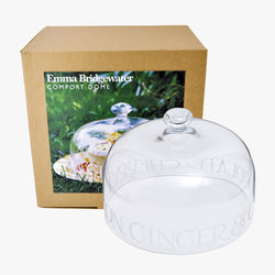 Glass Cake Dome Boxed
