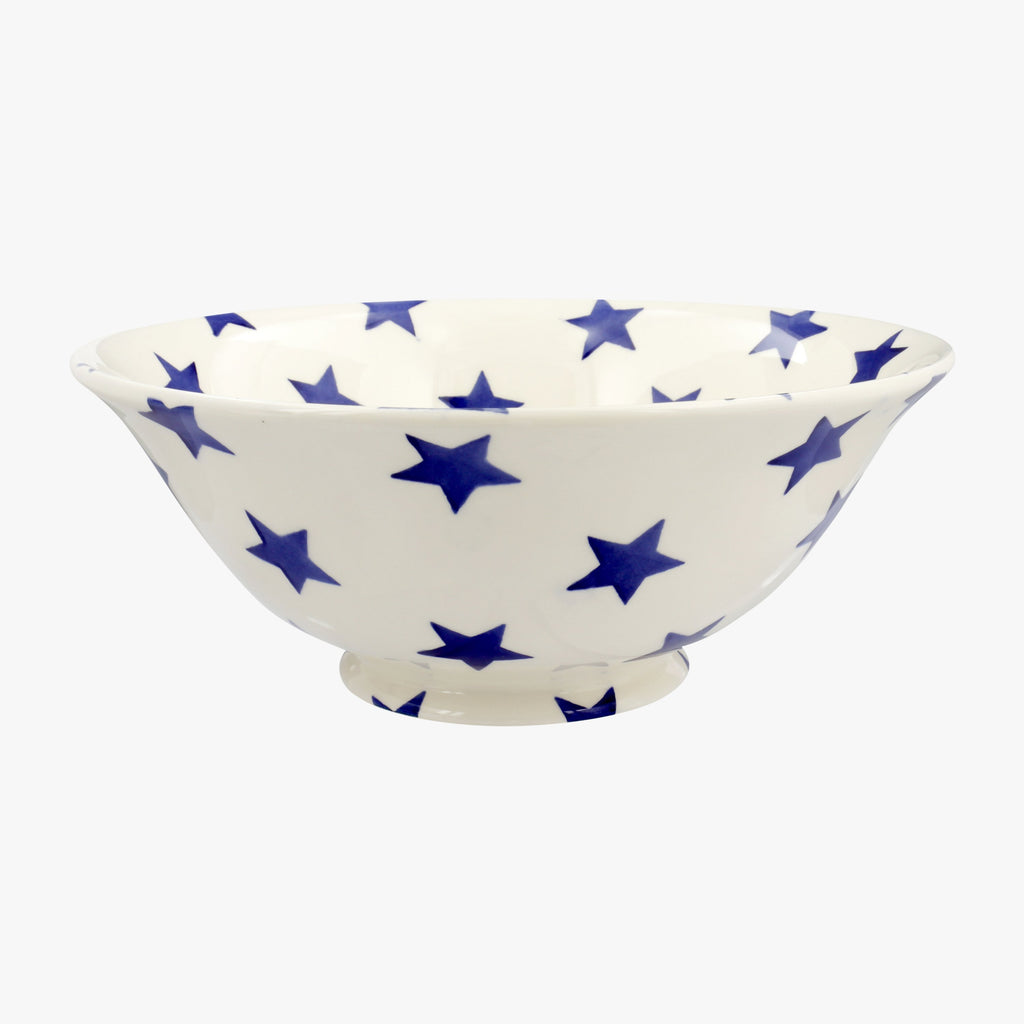 Seconds Blue Star Medium Serving Bowl