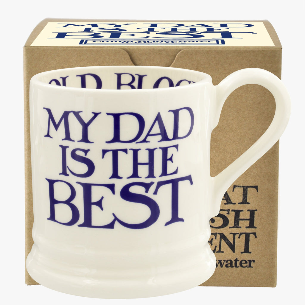 Blue Toast & Marmalade My Dad is the Best 1/2 Pint Mug Boxed