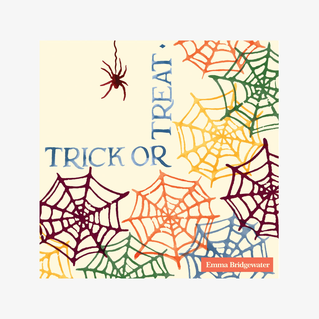 Cobwebs Trick or Treat Lunch Napkins