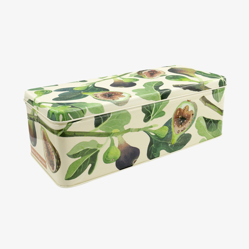 Vegetable Garden Figs Long Deep Rectangular Tin