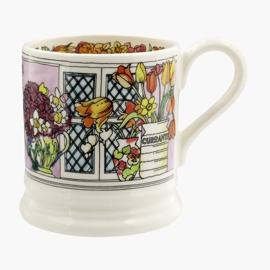 Seconds Flowers & Vases 1/2 Pint Mug