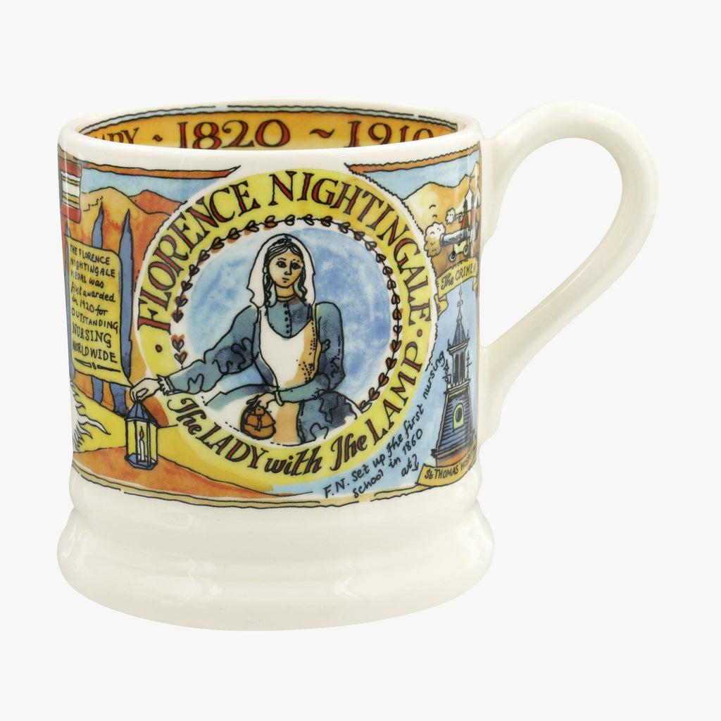 Seconds Florence Nightingale Bicentenary 1/2 Pint Mug