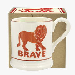 Brave Lion 1/2 Pint Mug Boxed