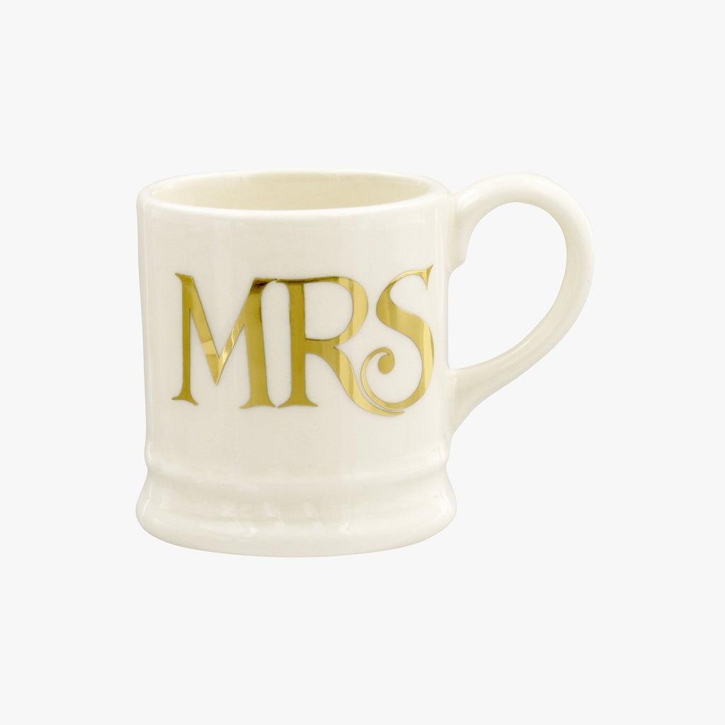 Gold Mrs Tiny Mug