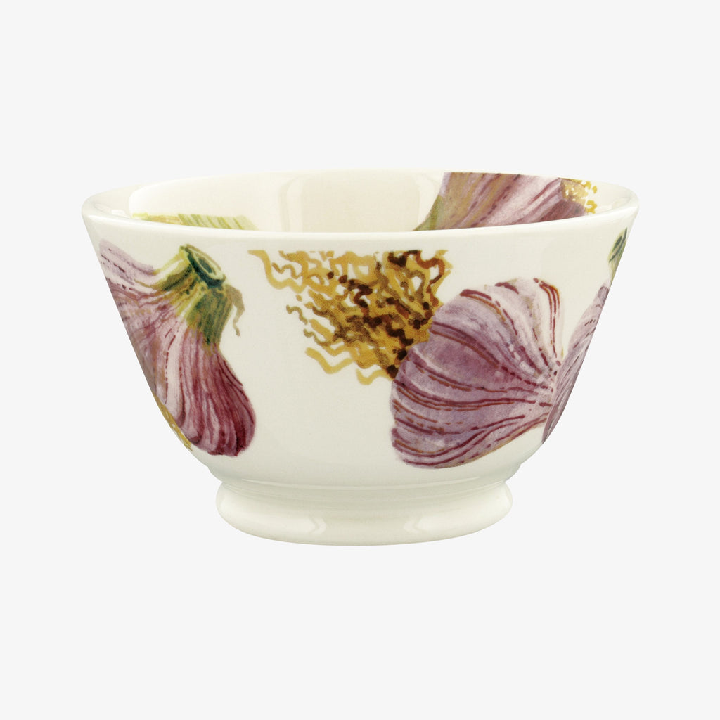 Vegetable Garden Garlic Small Old Bowl
