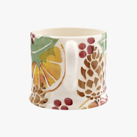 Holly and Berry Wreath Small Mug