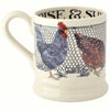 Seconds Hen & Toast Wake Up 1/2 Pint Mug