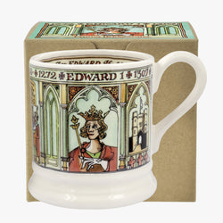 Edward III 1/2 Pint Mug Boxed