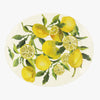 Seconds Vegetable Garden Lemons Medium Oval Platter