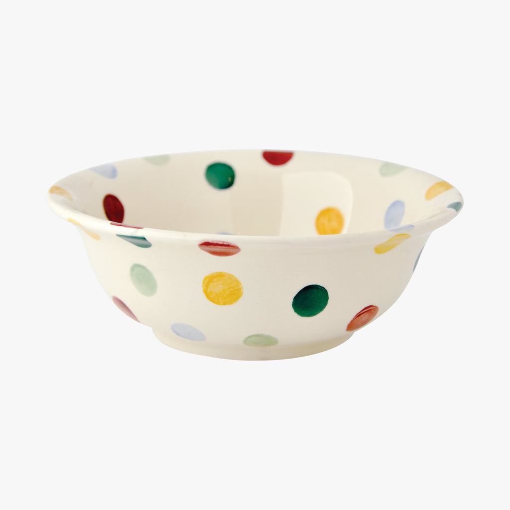 Seconds Polka Dot Cereal Bowl
