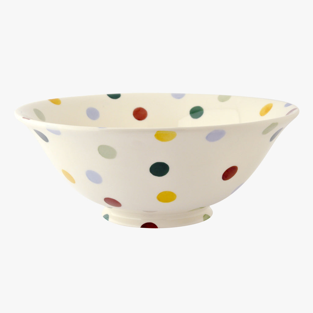 Polka Dot Medium Serving Bowl