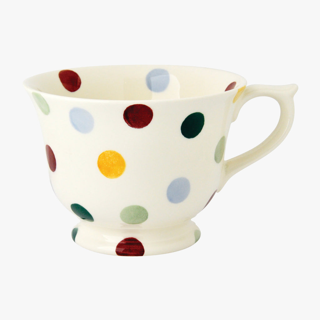 Seconds Polka Dot Large Teacup