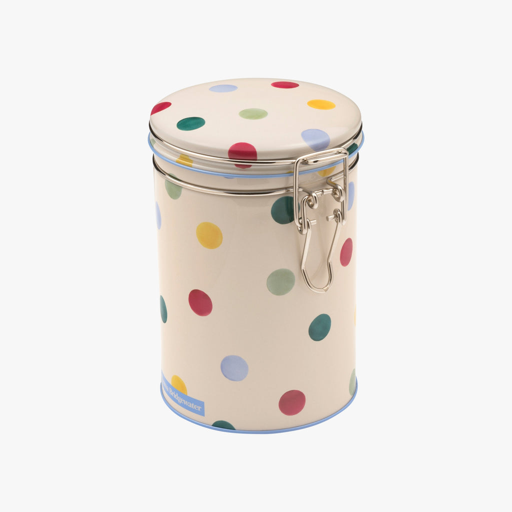 Polka Dot Clip Lid Caddy