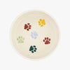 Seconds Polka Paws Large Pet Bowl