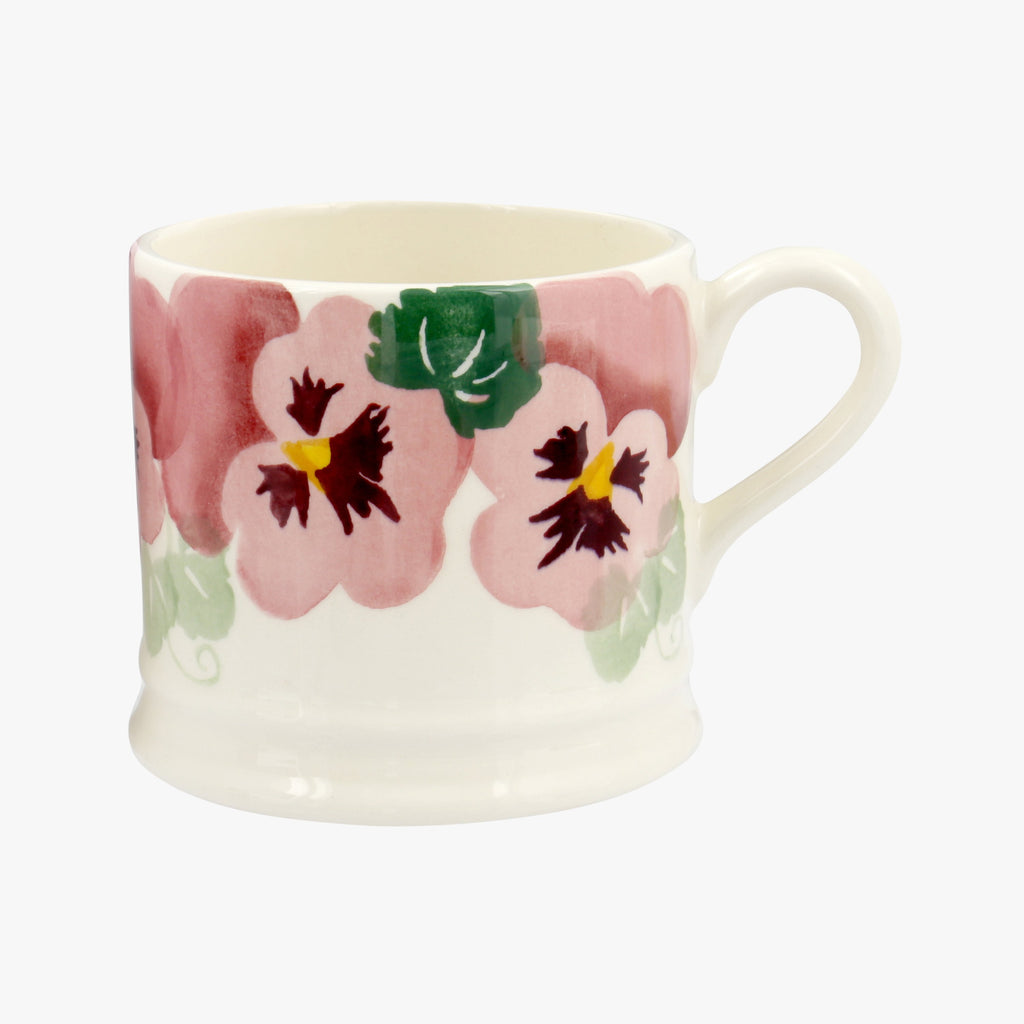 Seconds Pink Pansy Small Mug