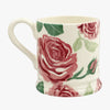 Seconds Pink Roses 1/2 Pint Mug