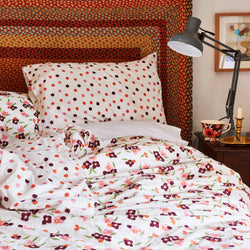 Pink Wallflower Single Duvet Set